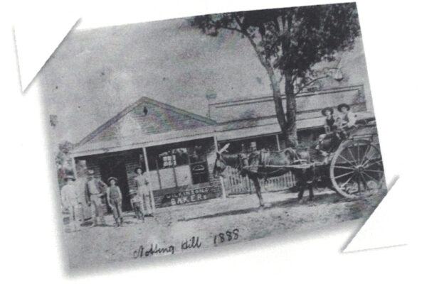 Wilson's Bakery in 1888