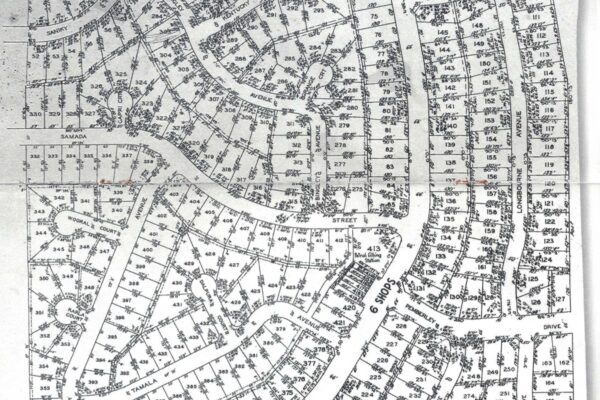 Notting Hill Map in the 1960s